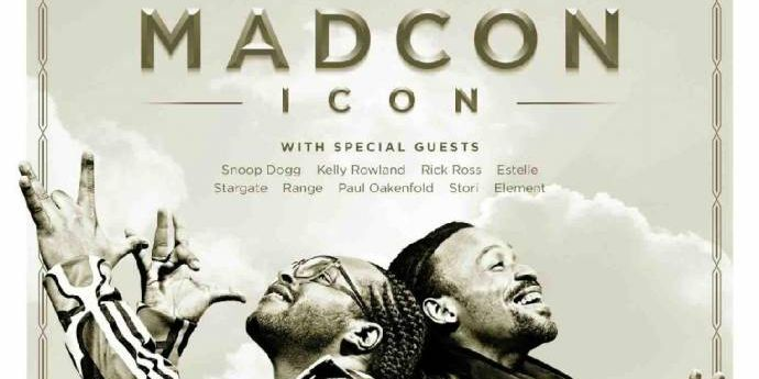 Ab heute im Handel: MADCON ICON - feat. Snoop Dogg, Kelly Rowland, usw.              (C)Sony Music