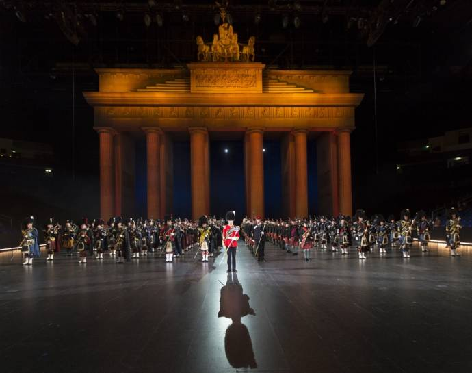 Berlin Tattoo 2013 - Berliner Militärmusikfest in der o2 World Berlin