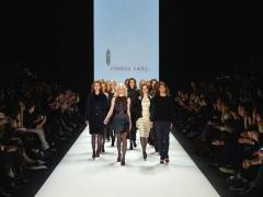 Mercedes-Benz Fashion Week: rebekka ruétz - BLACK DIAMONDS Kollektion        (C)Foto: Getty Images
