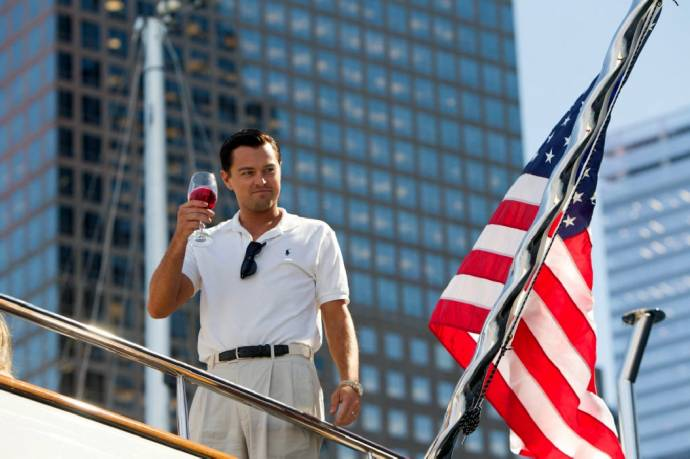 Golden Globe für Leonardo DiCaprio in THE WOLF OF WALL STREET