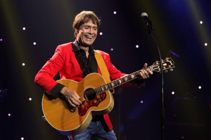 Cliff Richard auf Still Reelin' and A-Rockin'-Tournee                                      (C)AnnBew