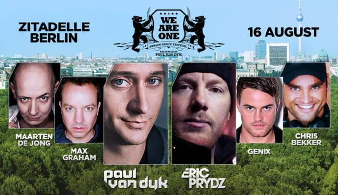 Citadel Music Festivals 2014: WE ARE ONE Festival mit einem großartigen Line-Up