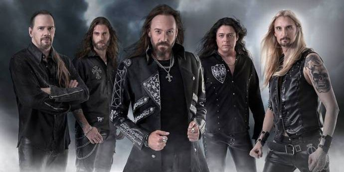 HAMMERFALL - Mit neuem Album auf World Wide (r)Evolution Tour 2015