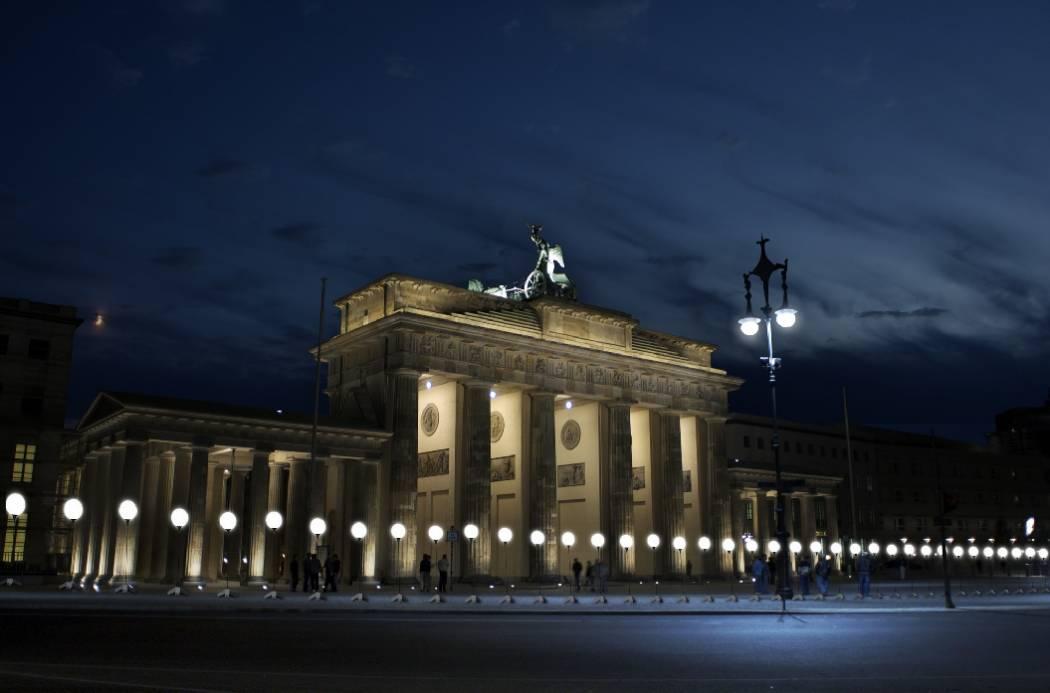 Lichtinstallation Berlin