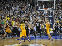 NBA Global Games - Alba Berlin macht die San Antonio Spurs total Gaga