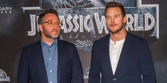Chris Pratt & Colin Trevorrow stellen in Berlin JURASSIC WORLD (3D) vor