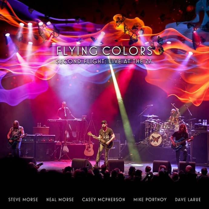 "Supergroup Flying Colors – Neues Live Album ""Second Flight: Live At The Z7"""