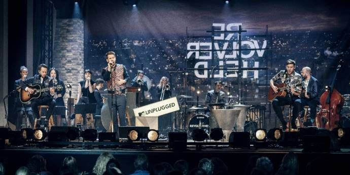 Revolverheld - MTV UNPLUGGED als ein absolutes Karriere-Highlight                (C)Foto: Tim Kramer