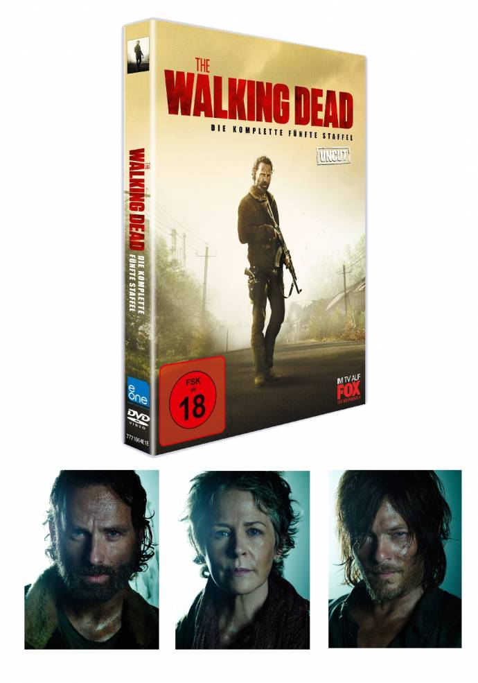 THE WALKING DEAD IN ALLER MUNDE - Los geht´s mit der 5. Staffel