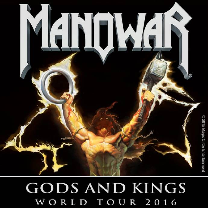 Manowar - Die Kings Of Metal auf Gods And Kings World Tour