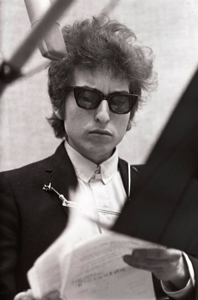 Zum 75. Geburtstag der Rock-Legende - Happy Birthday Bob Dylan im Wintergarten  (C)Foto:Don Hunstein