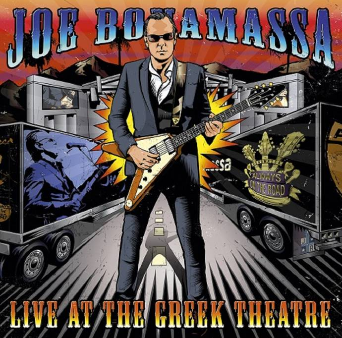 Joe Bonamassa – Live At The Greek Theatre mit Video Let The Good Times Roll