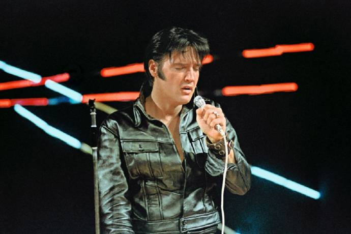 Elvis Presley - The King live on Screen                     (C)Foto: Courtesy_of_Graceland_Archives