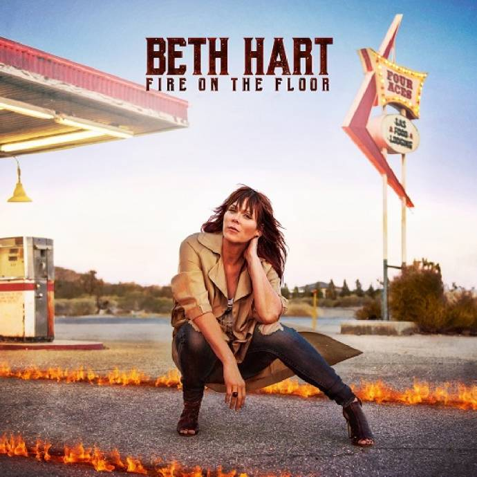 Beth Hart - Fire On The Floor - In Bestform mit viel Soul in der Stimme