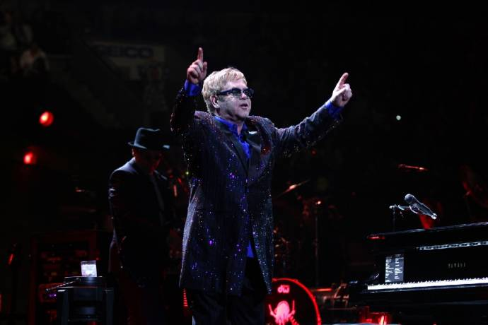 Elton John - Wonderful Crazy Night Tour - Greatest Hits als Dankeschön       (C)Foto: MelanieEscombe