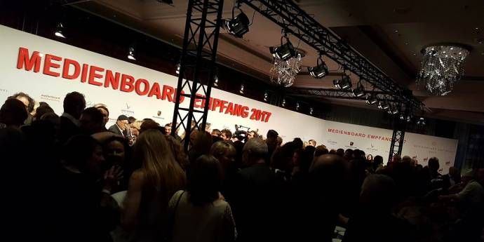 Medienboard Empfang 2017 - Traditionelles Get Together der Filmbranche    (C)Foto: BerlinMagazine.de