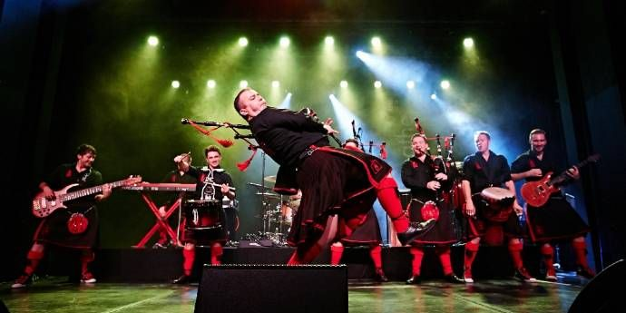 Red Hot Chilli Pipers - Anniversary Tour 2017 - 15 Years of Bagrock