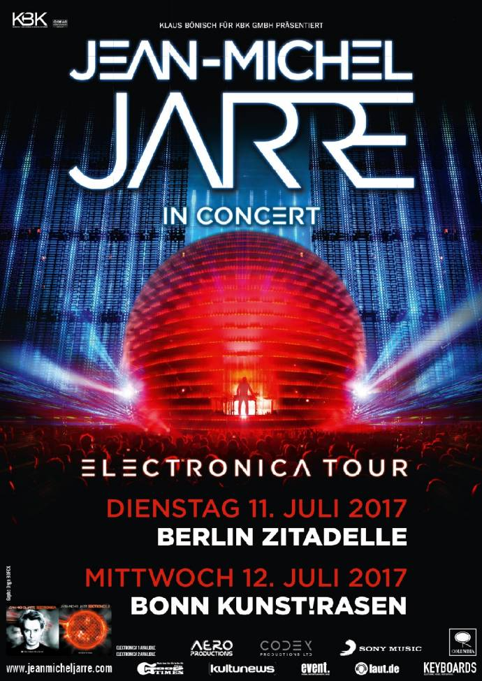 Jean-Michel Jarre - Der Klang-Zauberer - Open Air Show in Berlin
