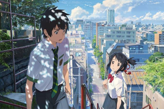 YOUR NAME (C)2016 TOHO CO., LTD. / CoMix Wave Films Inc. / KADOKAWA CORPORATION / East Japan Marketi