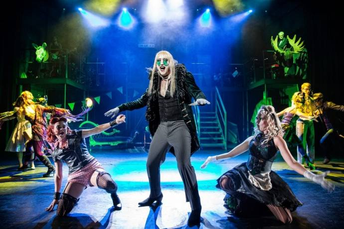 Richard O'Brien's - Rocky Horror Show - Das Enfant terrible des Musicals         (C)Foto: Jens Hauer