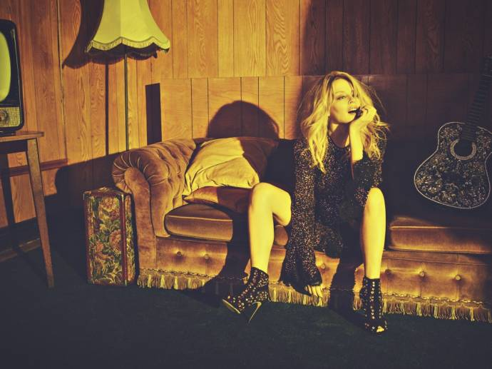 "Kylie Minogue kündigt ihr neues Album ""Golden"" an         (C)Foto: Darenote Ltd. 2018 / Simon Emmett"