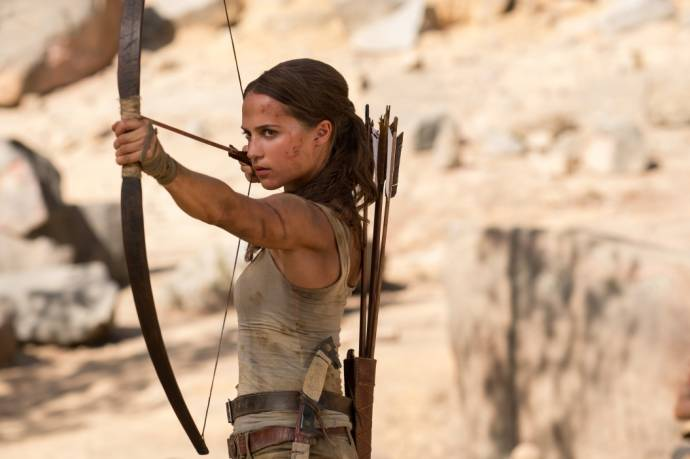 Tomb Raider - Oscar®-Preisträgerin Alicia Vikander        (C)Foto: Courtesy of Warner Bros. Pictures