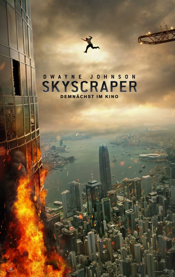 Skyscraper 3D - Packender 3D-Action-Thriller mit Dwayne Johnson          (C)Foto: Universal Pictures
