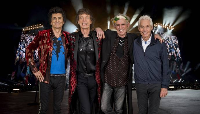 The Rolling Stones - No Filter Tour 2018 - Sie kommen nach Berlin                (C)Foto: Dave Hogan