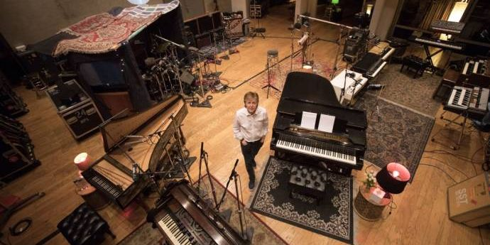 Paul McCartney - Egypt Station - Spitze der Albumcharts erobert               (C)Foto: Tyler Curtis