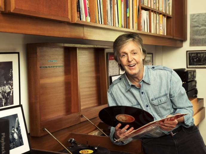 Paul McCartney - Egypt Station - Spitze der Albumcharts erobert              (C)Foto: Mary McCartney