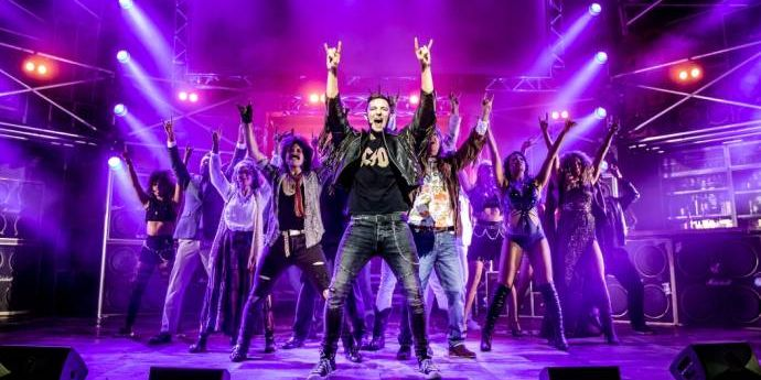 Adventskalender 2018 - Tag 1 - Rock of Ages Musical                       (C)Foto: Richard Davenport