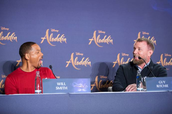 Aladdin - Superstar Will Smith rockt den roten Teppich bei Premiere (C)Foto: 2019 Disney Enterprises