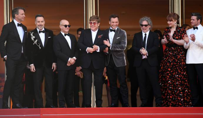 Rocketman - Umjubelte Weltpremiere in Cannes - Elton John rockt roten Teppich (C)Foto: Getty Images