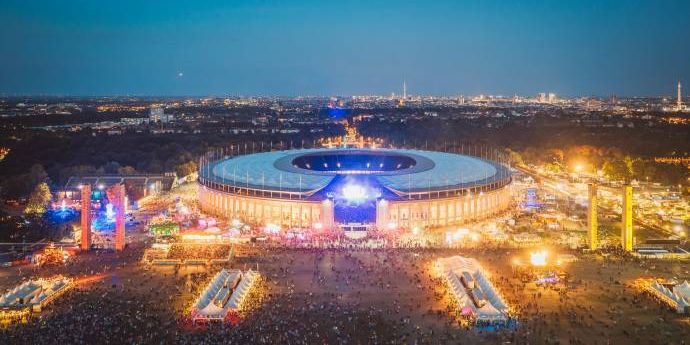 Lollapalooza Berlin 2019 - Bunter Mix - Swedish House Mafia & Kings of Leon (C)Foto: Stephan Flad