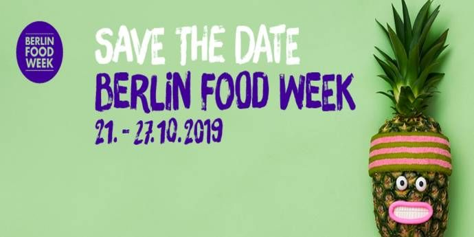 Berlin Food Week 2019 - Regional trifft international                 (C)Foto: Berlin Food Week GmbH