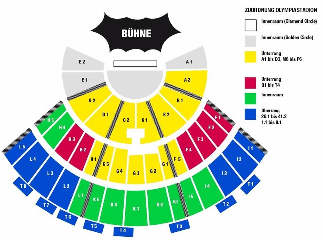 Olympiastadion Berlin Sitzplan Kategorien