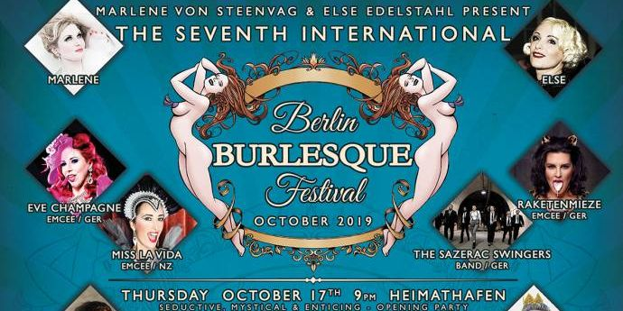 The Seventh International Berlin Burlesque Festival - Retro-Striptease in Berlin