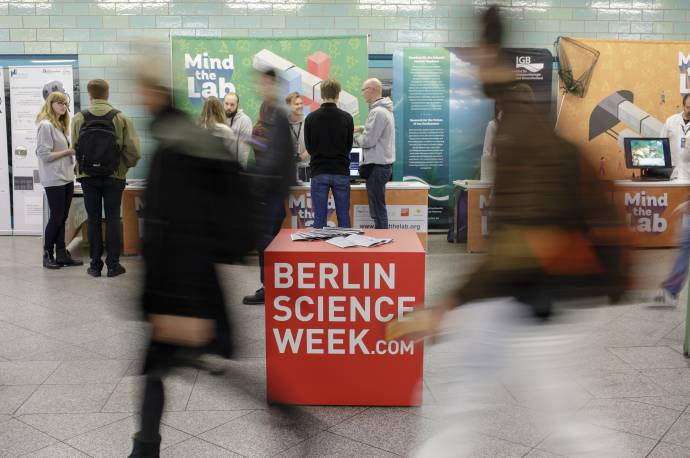 Berlin Science Week 2019 - Int. Festival zur digitalen Zukunft     (C)Foto: Falling Walls Foundation