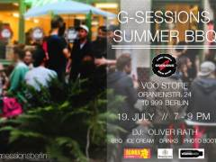 Final G-SESSIONS - Summer BBQ at VOO